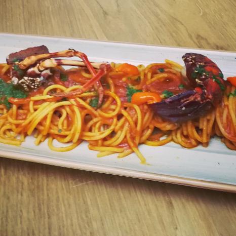 Spaghetto Ragu Aragosta Alghero